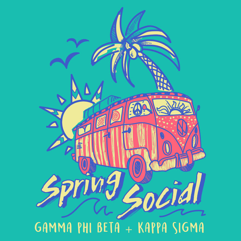 Gamma Phi Beta and Kappa Sigma Beach Mixer Design