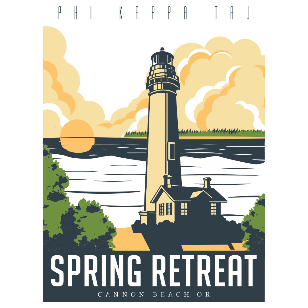 Phi Kappa Tau Lighthouse Design