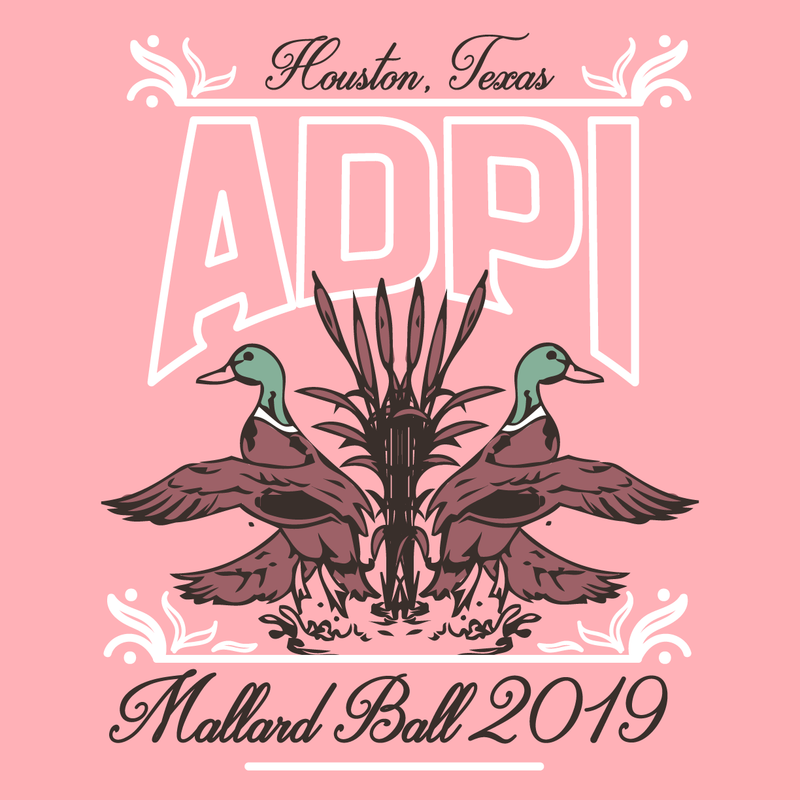 Alpha Delta Pi Mallard Ball Design