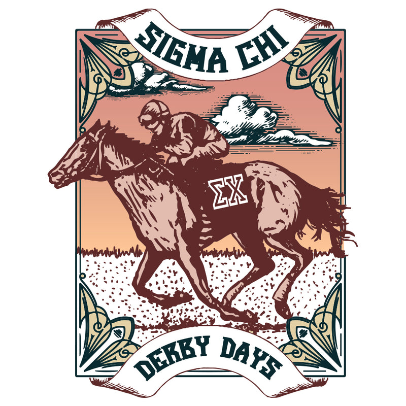 Sigma Chi Southern Derby Days Design