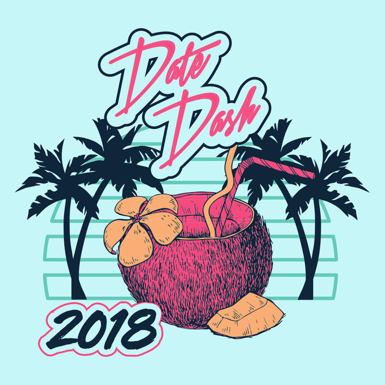 Tropical Date Dash Design