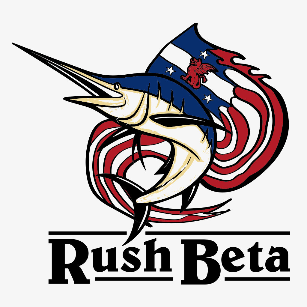 Beta Theta Pi Swordfish Rush Design