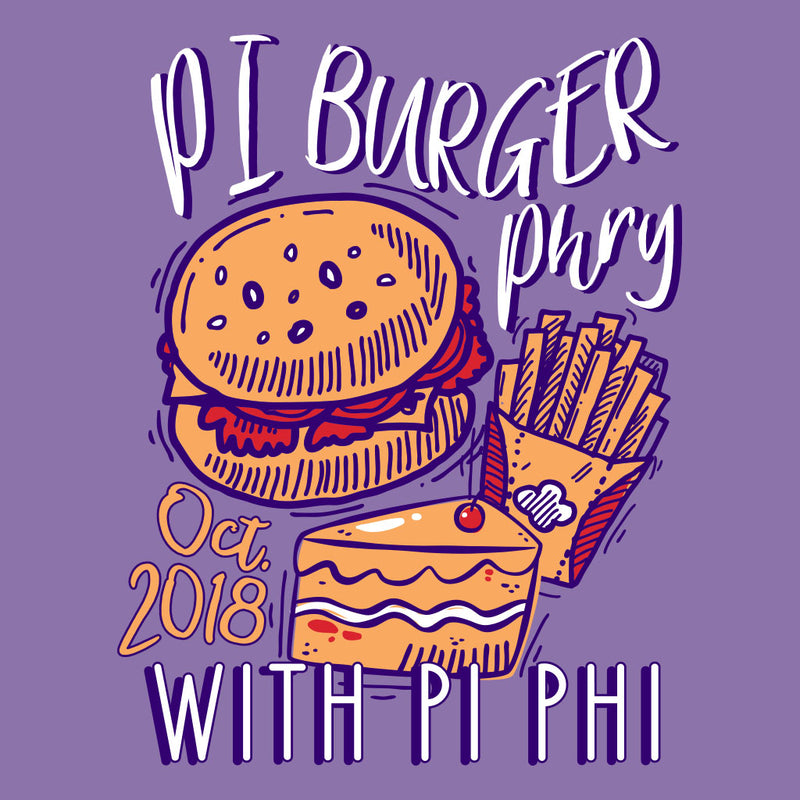 Pi Beta Phi Pi Burger Phry Philanthropy Design