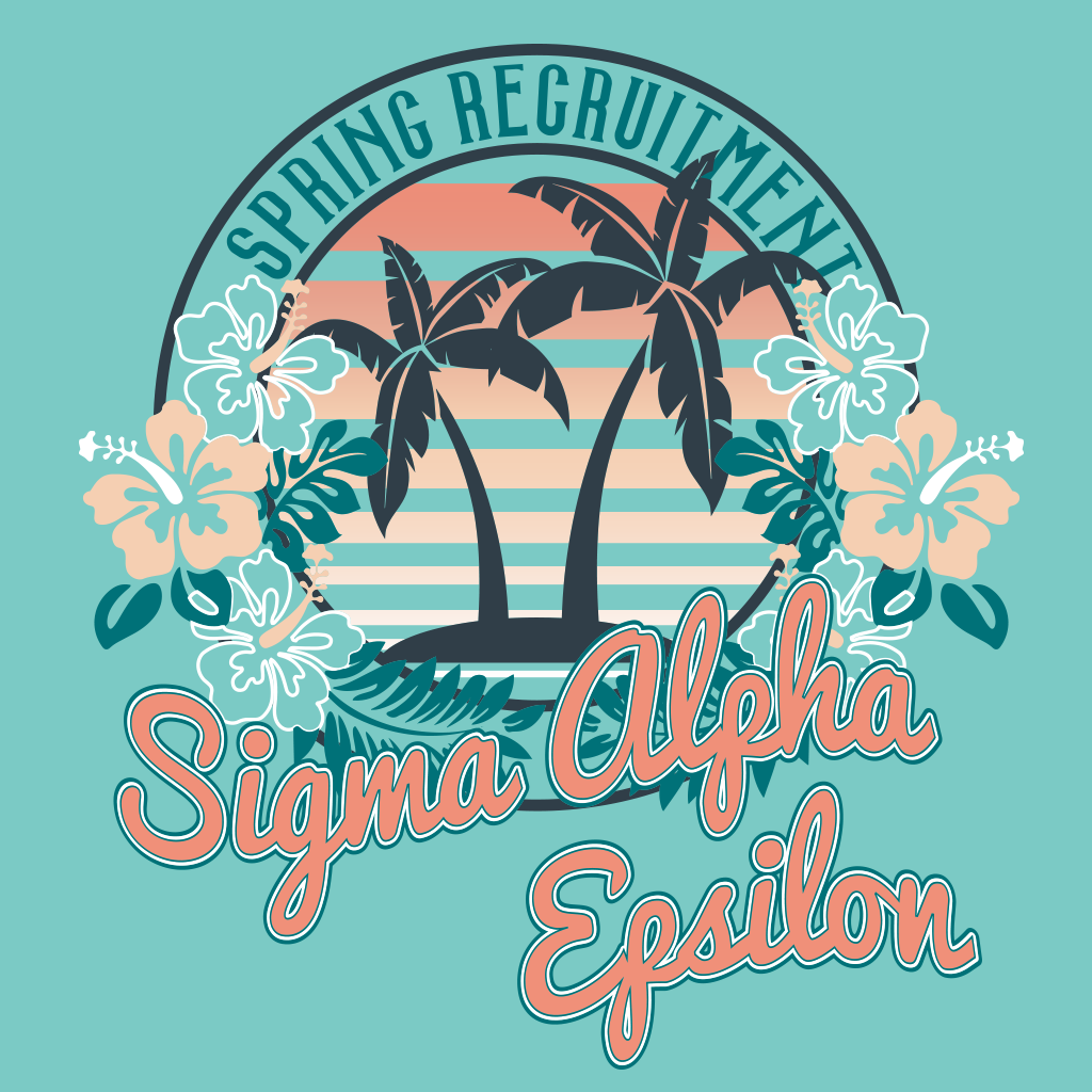 Sigma Alpha Epsilon Island Spring Recruitment Design