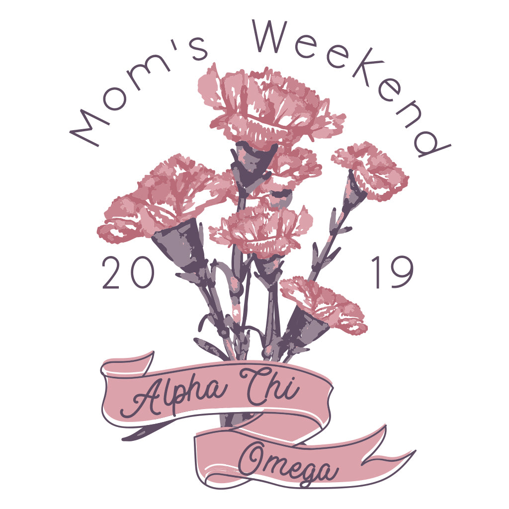 Alpha Chi Omega Bouquet Mom's Weekend Design
