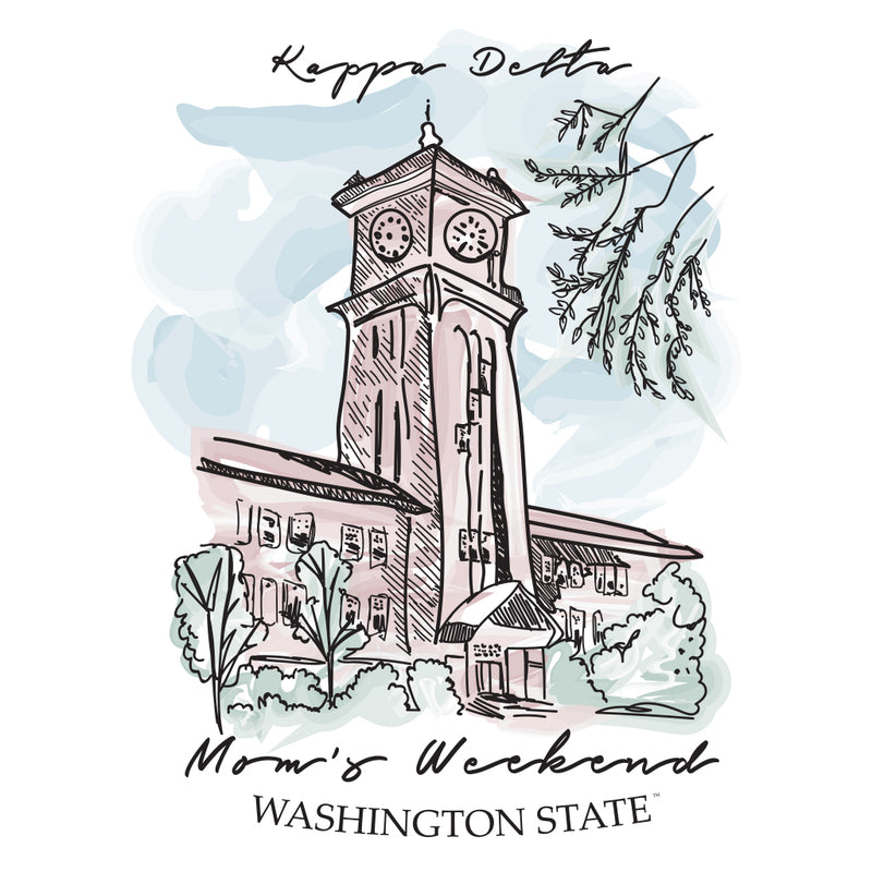 Kappa Delta Mom's Weekend Classic Campus Design