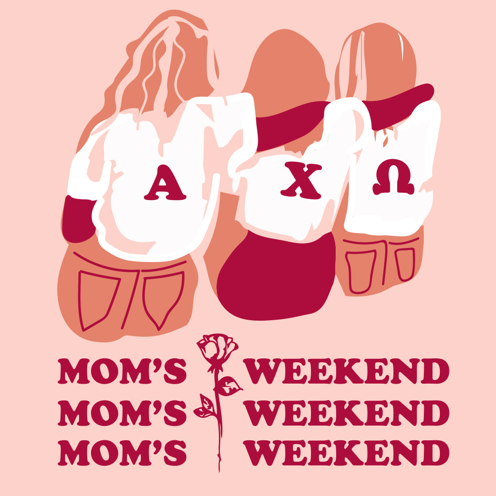 Alpha Chi Omega Squad Mom's Weekend Design