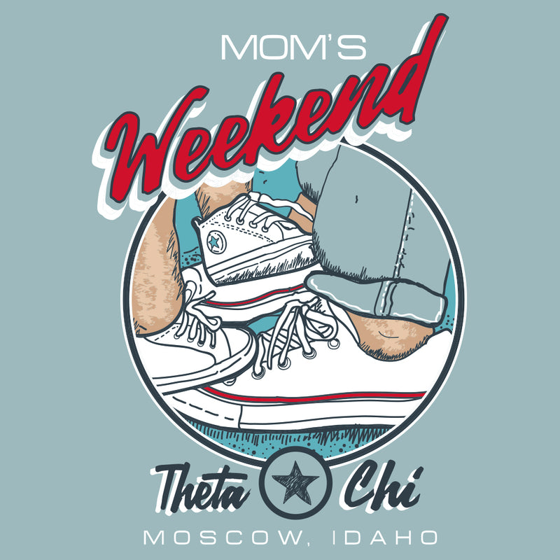 Theta Chi Classic Sneaker Mom's Weekend Design