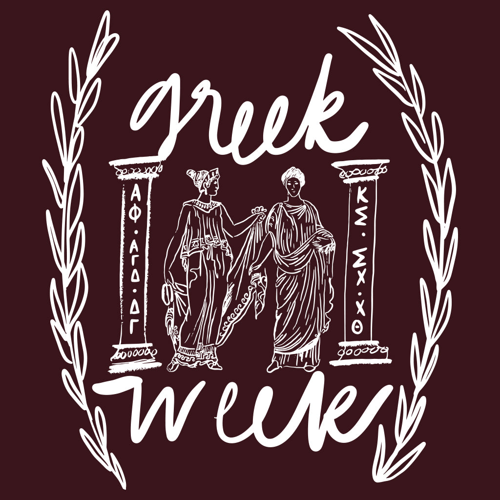Greek Week Classic Toga Design
