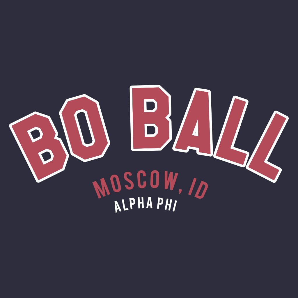 Alpha Phi Bo Ball Formal Design