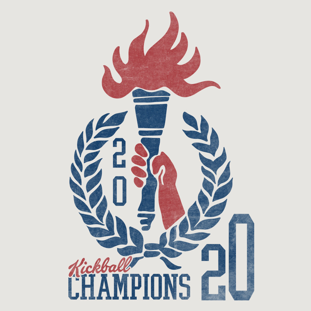 2020 Kickball Champs Design