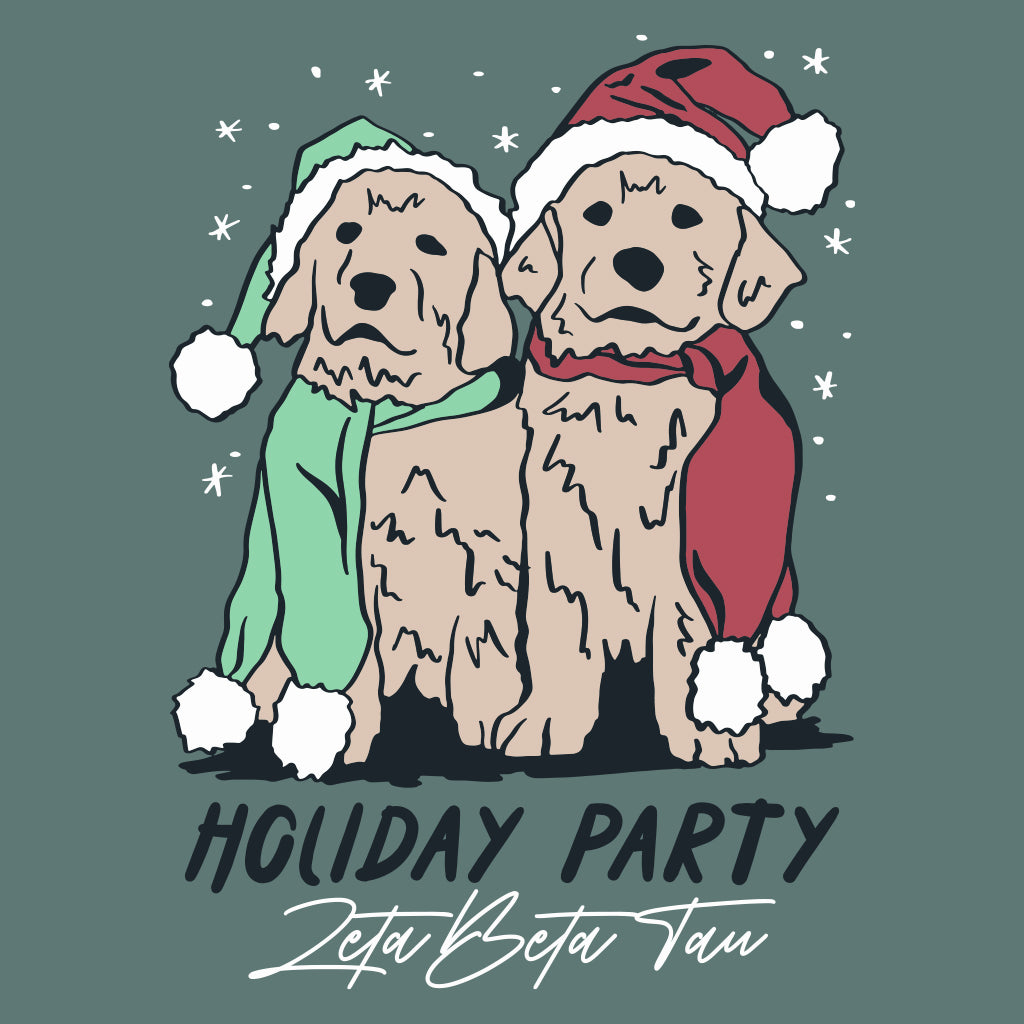 Holiday Puppy Party Design