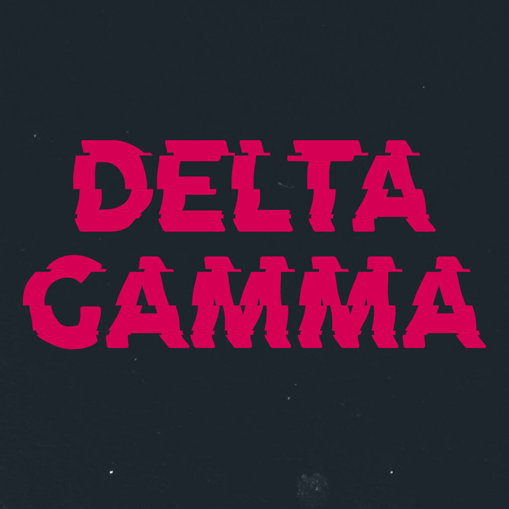Delta Gamma Glitch Design