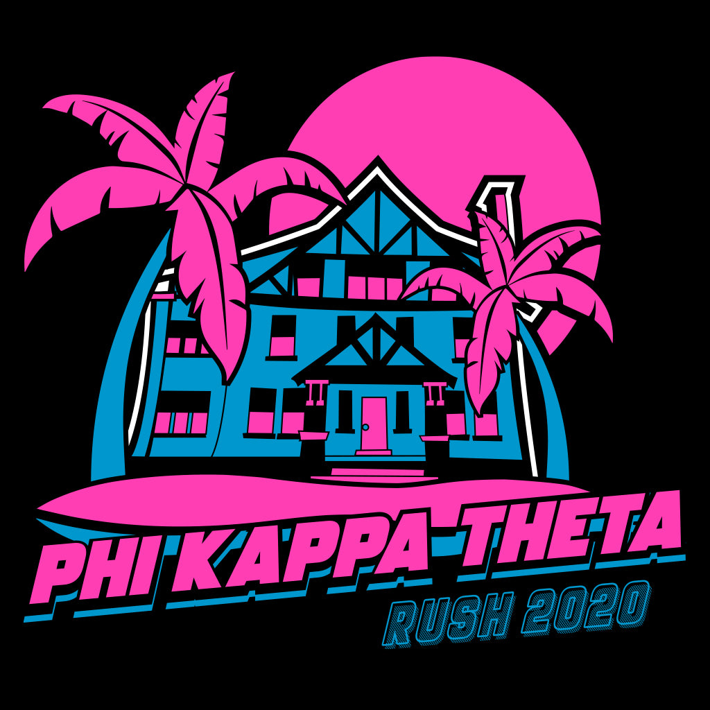 Phi Kap Neon Rush House Design