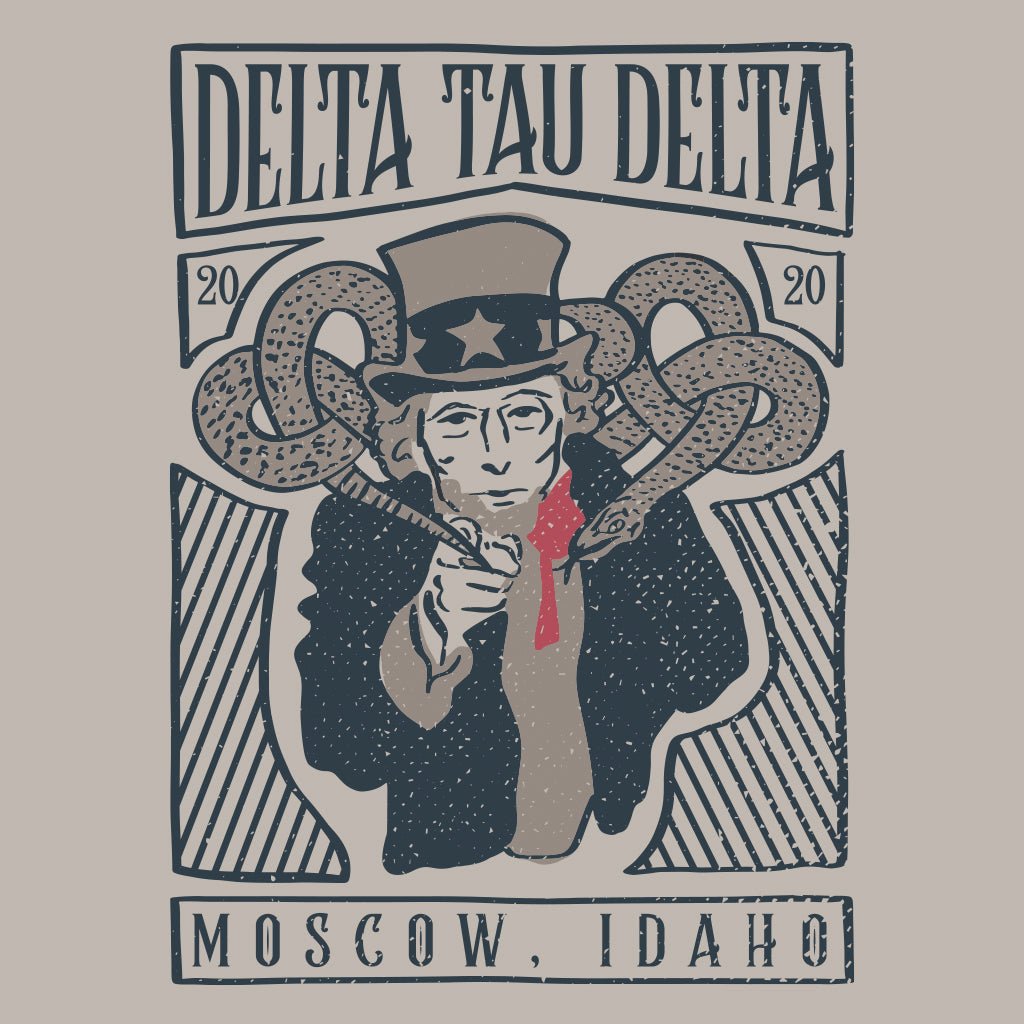 Delts Uncle Sam Rush Design