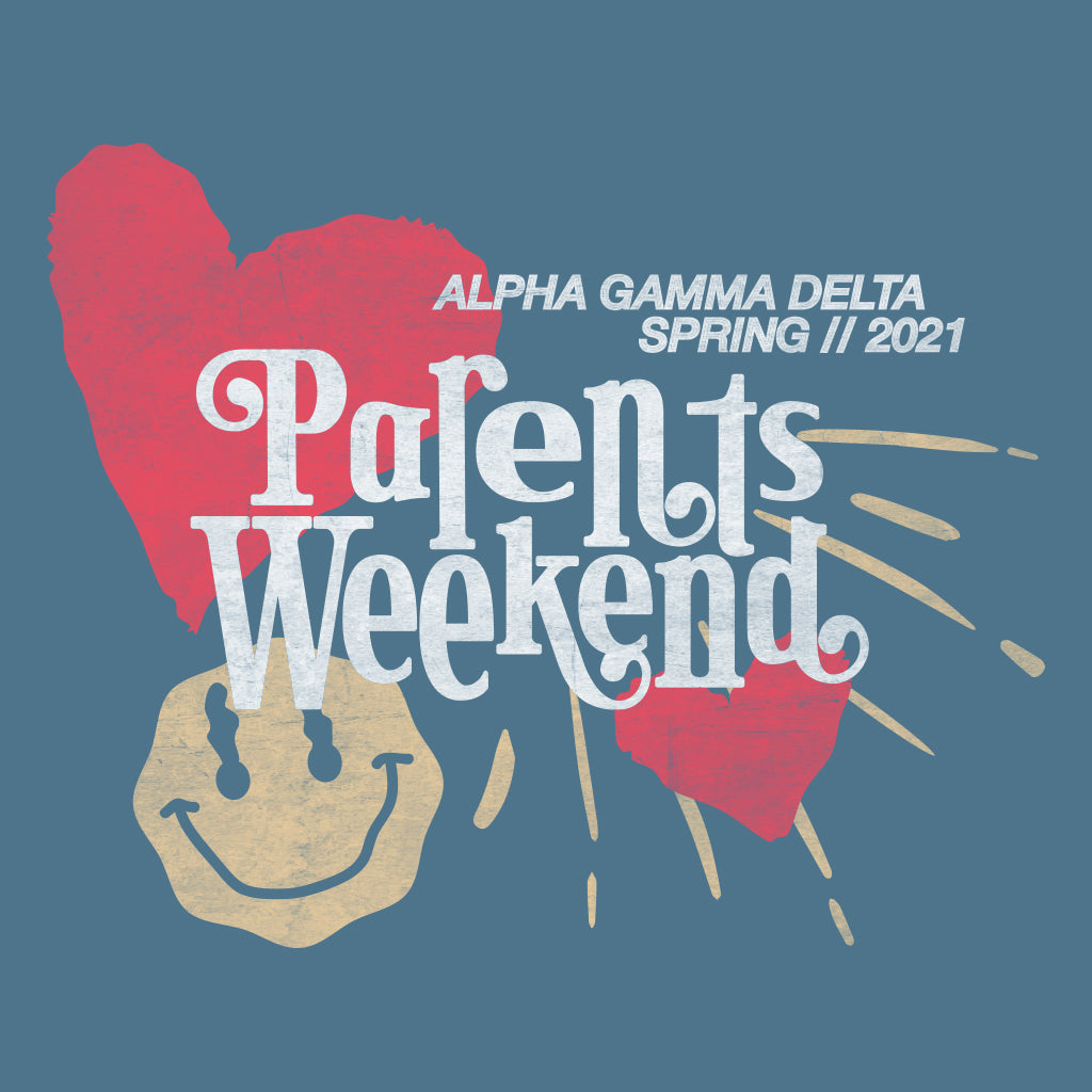 Alpha Gamma Delta Parents Weekend Design