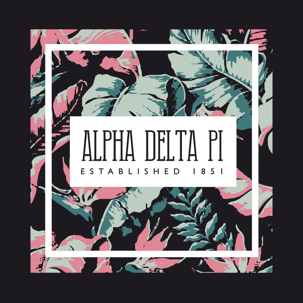 Alpha Delta Pi Spring Break Floral Design