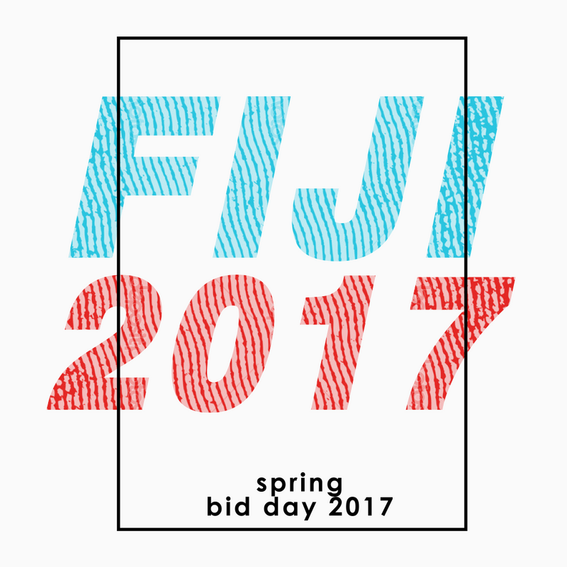 Fiji Spring Bid Day Design