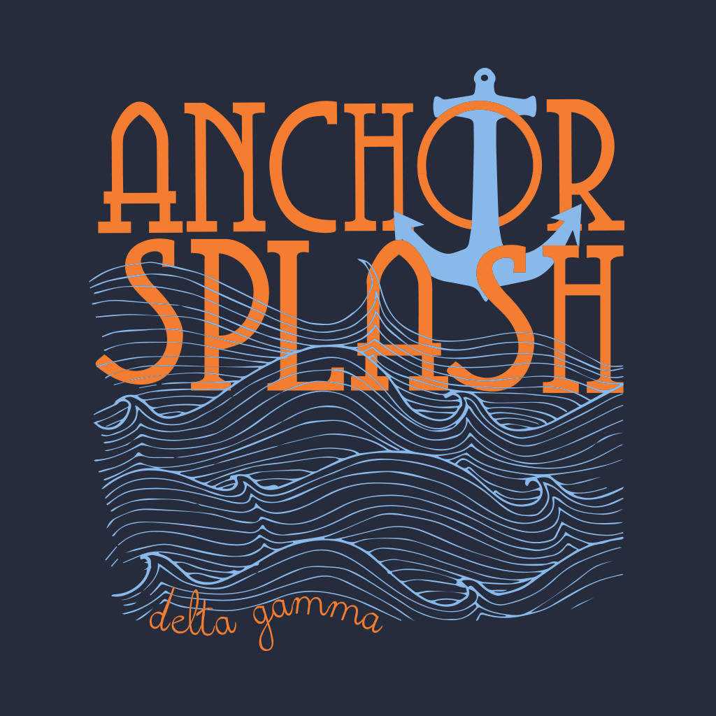 Delta Gamma Anchor Splash Design
