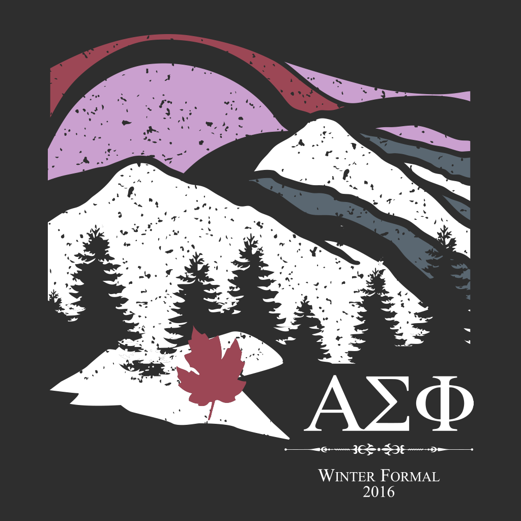 Alpha Sigma Phi Winter Formal Design