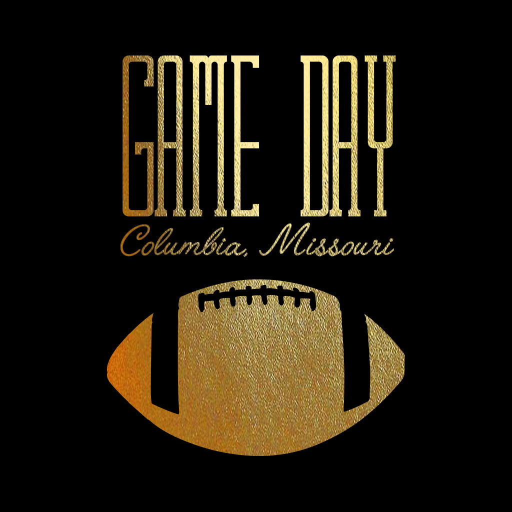Delta Gamma Game Day Foil Design