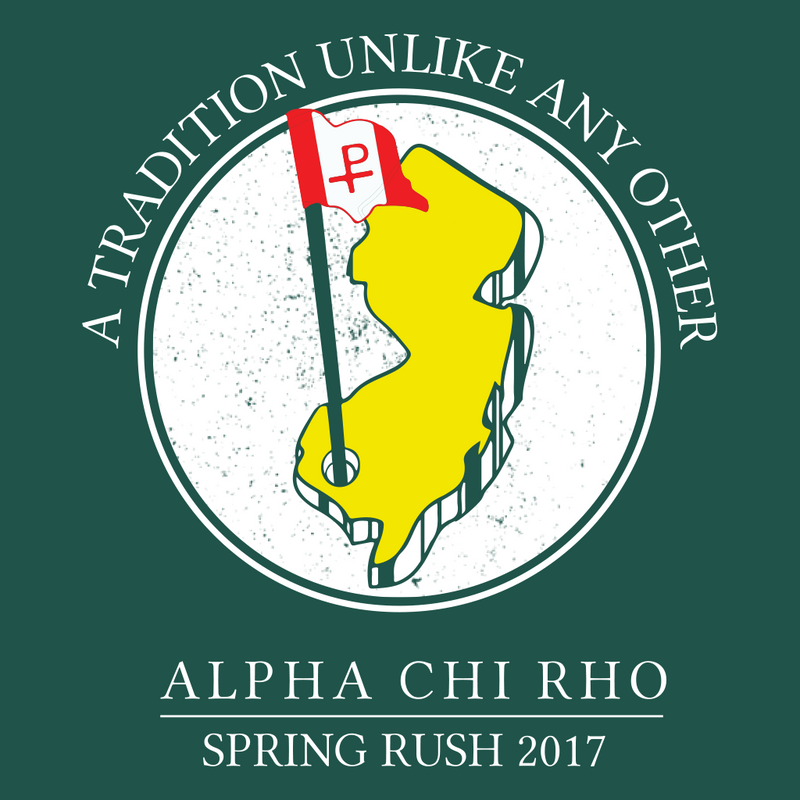 Alpha Chi Rho Spring Rush Design