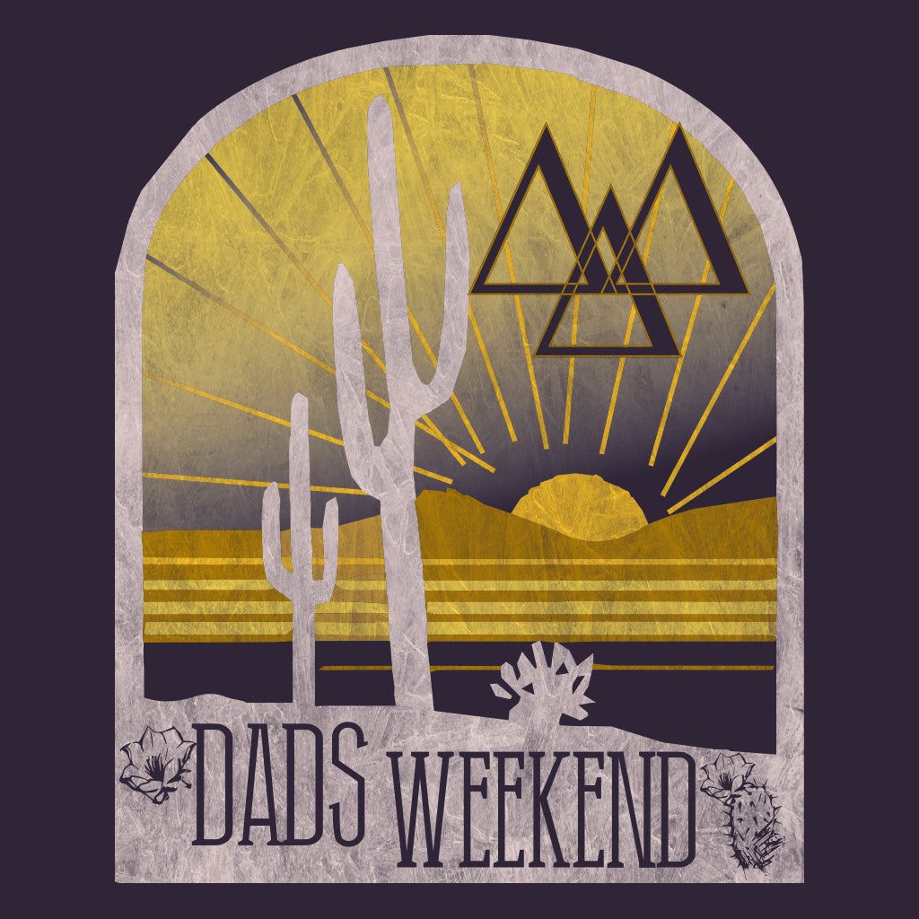Tri Delta Southwest Dad's Weekend Design