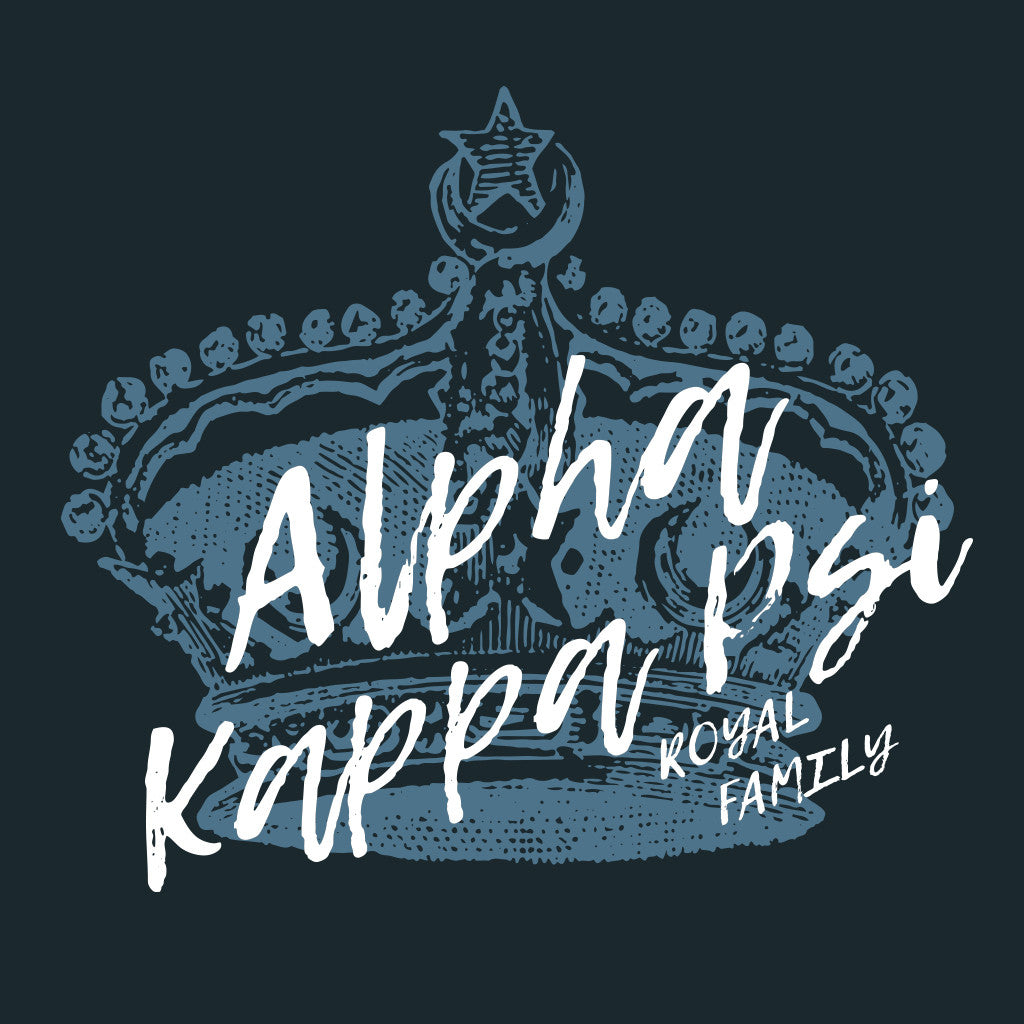 Alpha Kappa Psi Royal Family Design