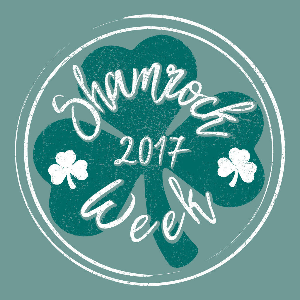 Shamrock Week Badge Design