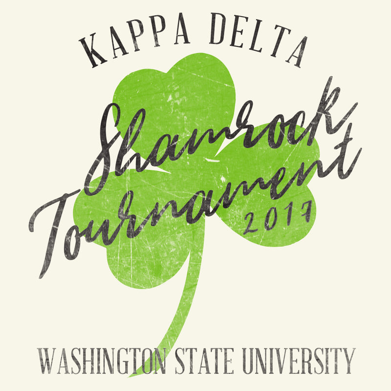 Kappa Delta Shamrock Tournament Design