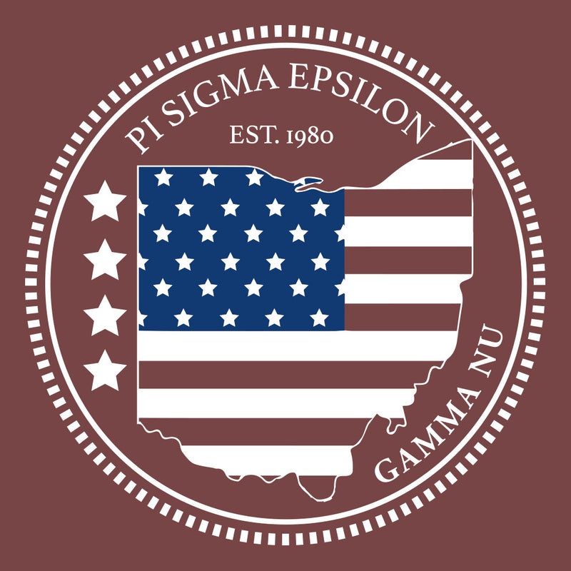 Pi Sigma Epsilon Patriotic Design