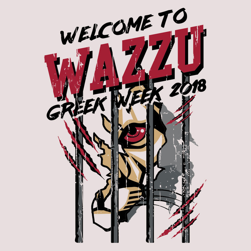 WAZZU Greek Week Design