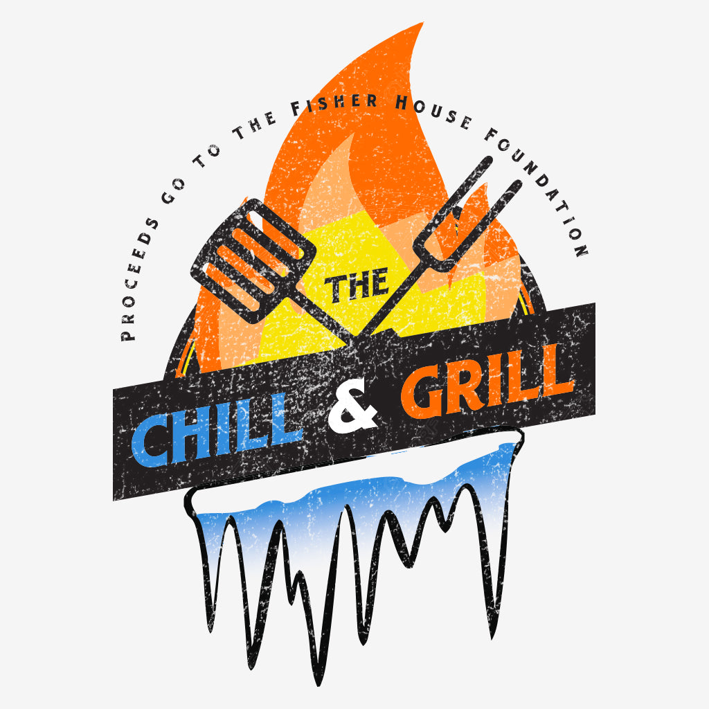 Chill and Grill Philanthropy Design