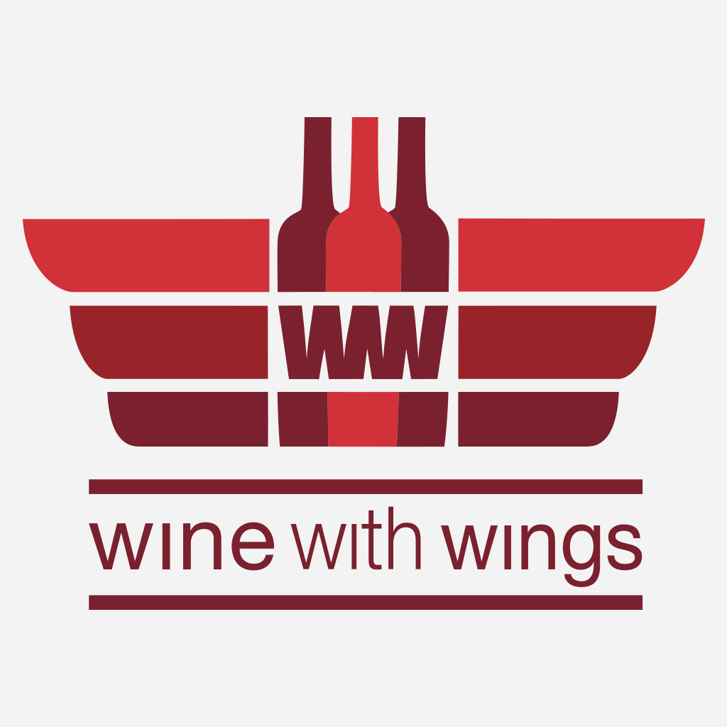 Wine with Wings Design