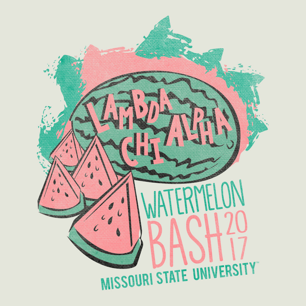Retro Vibes Watermelon Bash Design