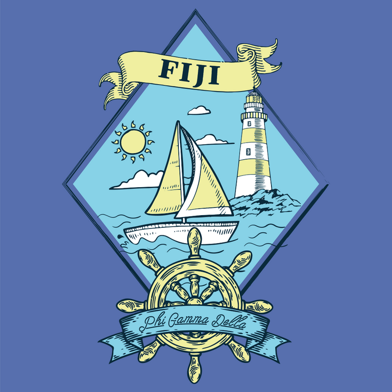 University of San Diego Phi Gamma Delta Fall Rush Sail Boat Design