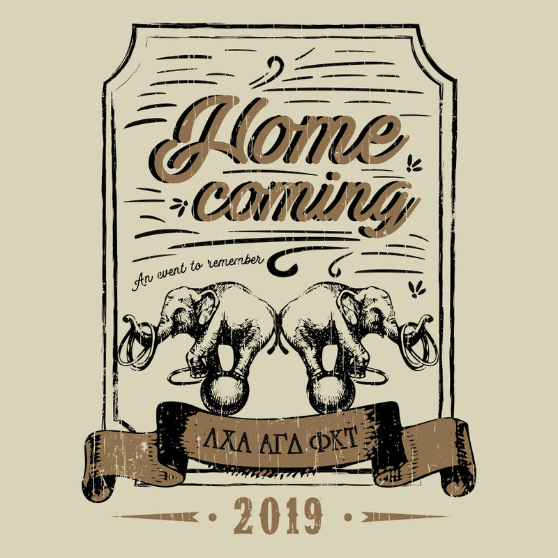 Vintage Circus Homecoming Design