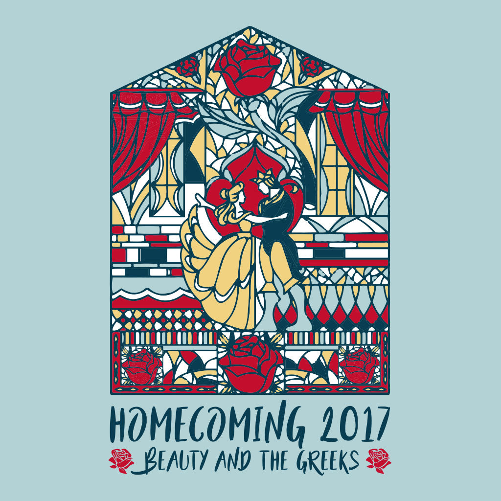 Beauty and the Greeks Homecoming Design