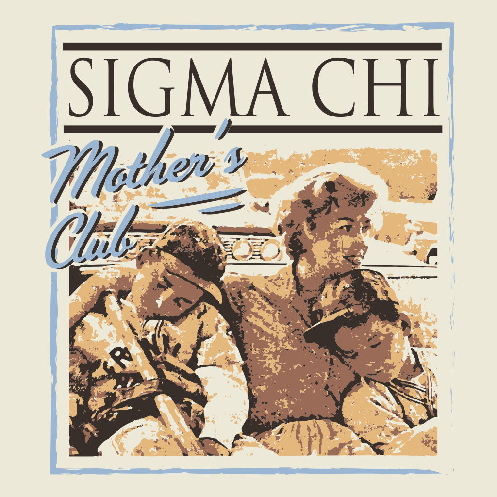 Sigma Chi Mother's Club Vintage Design