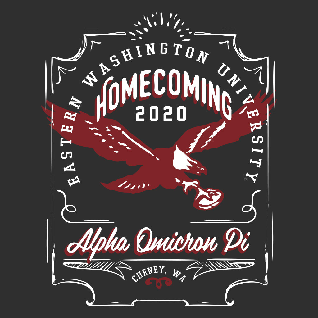 Alpha Omicron Pi Homecoming Design