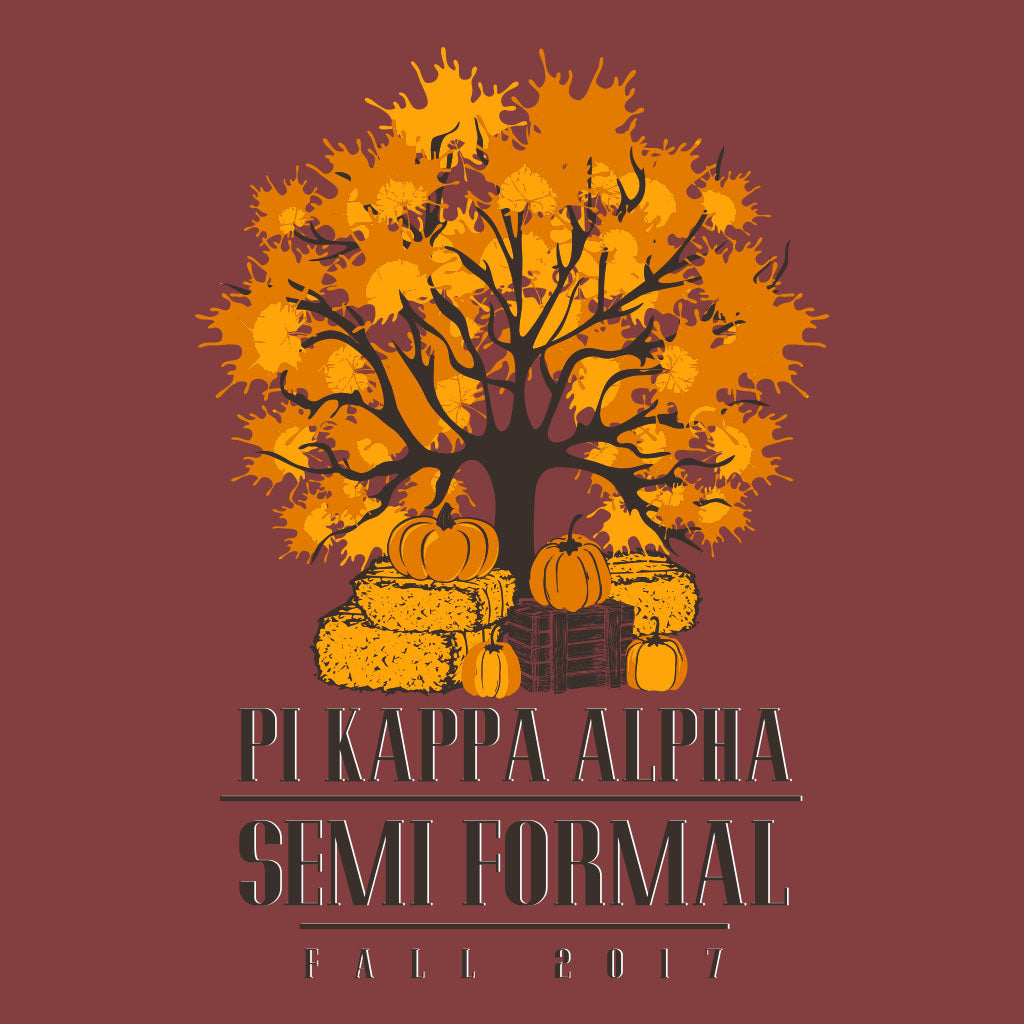 Pi Kappa Alpha Fall Semi Formal Design