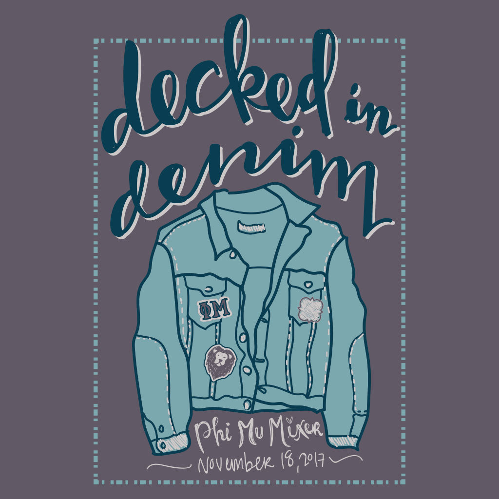 Decked in Denim Design