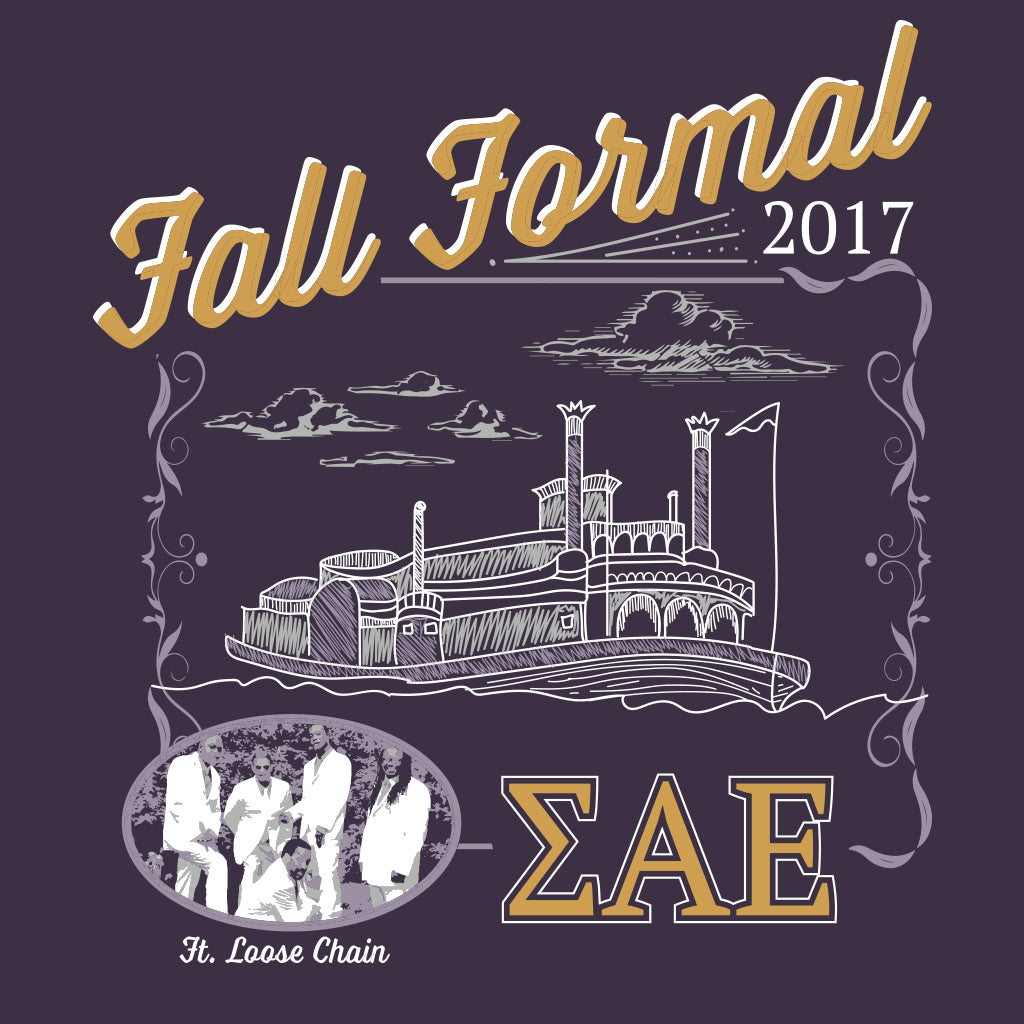 Sigma Alpha Epsilon Fall Formal River Design