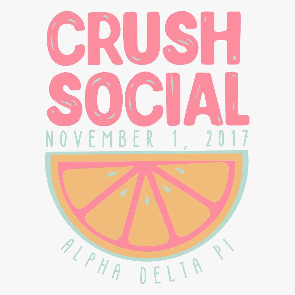 Alpha Delta Pi Crush Social Design