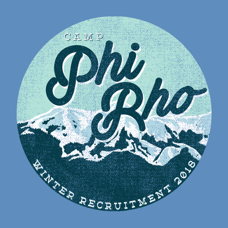 Camp Phi Rho Winter Recruitment Design