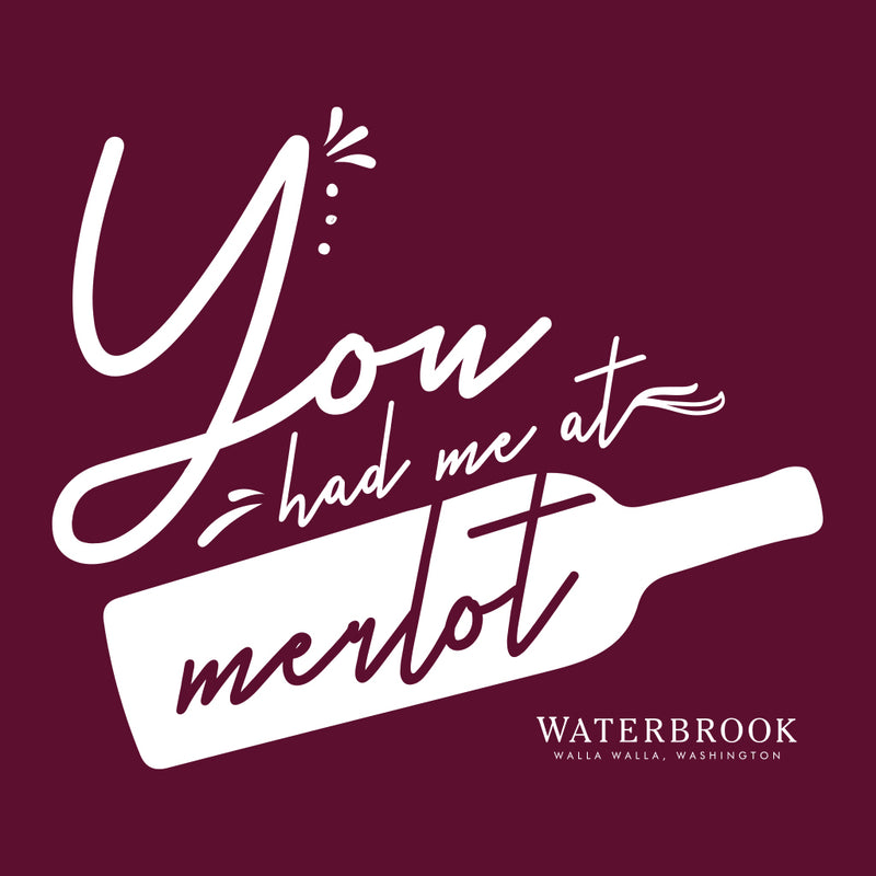 Waterbook Winery You Had Me at Merlot Design