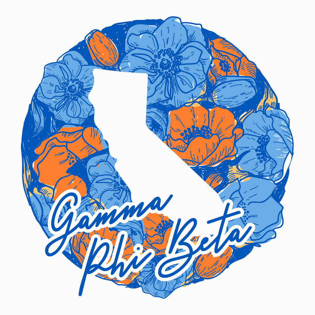 Gamma Phi Beta California Floral Design