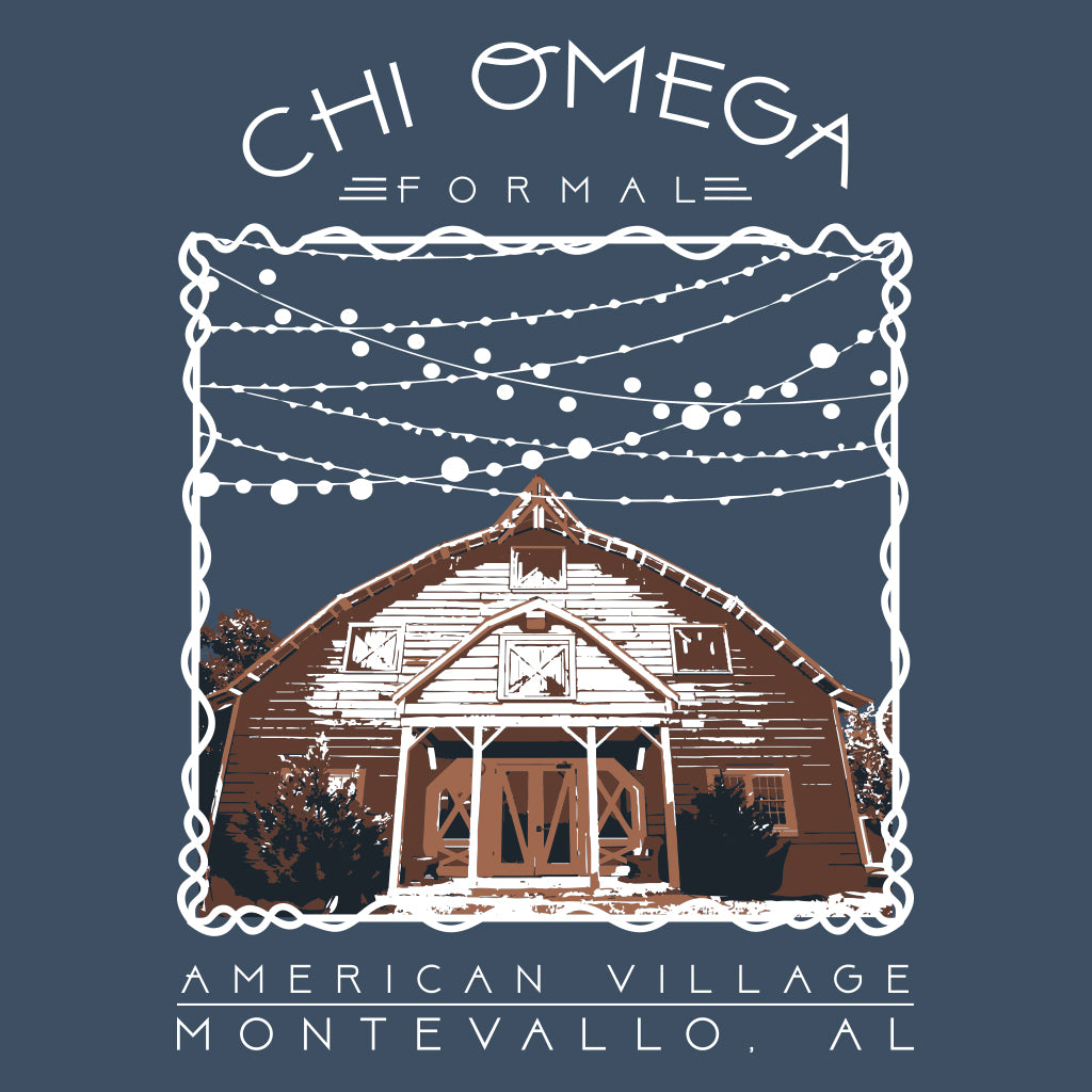 Chi Omega Formal Barn Design