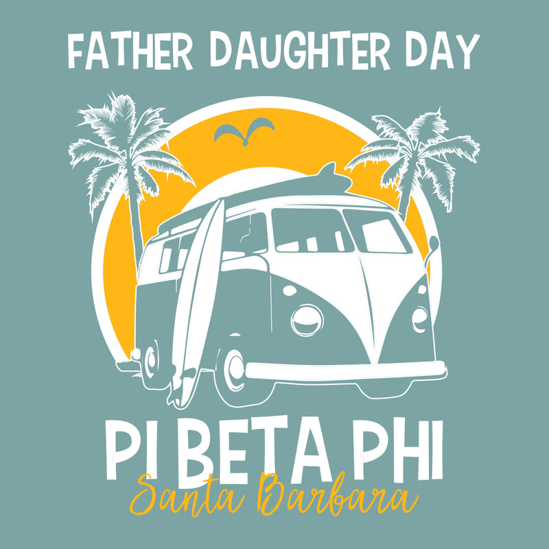 Pi Beta Phi Old School Family Weekend Design