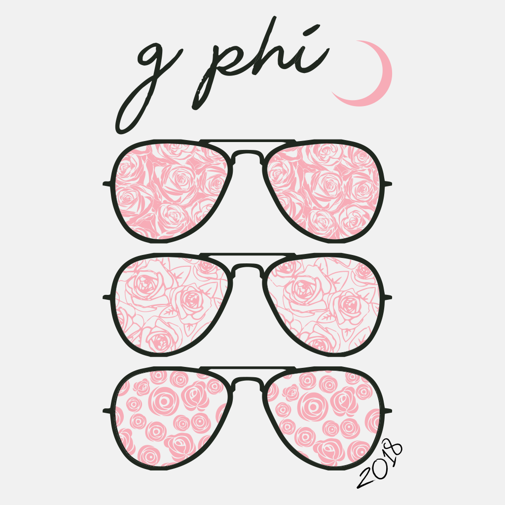 Gamma Phi Beta Sunnies Design